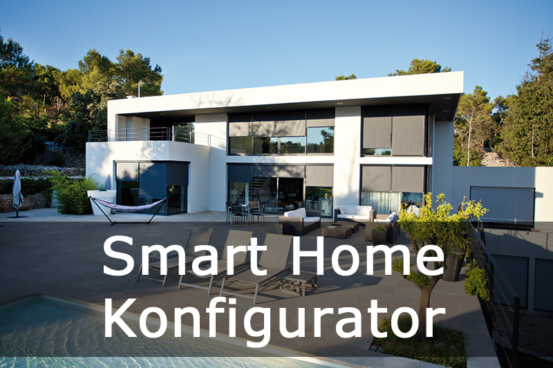 Somfy IO Smart Home Konfigurator